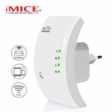 Repetidor WiFi extensor 300 Mbps WiFi amplificador inalámbrico Wi Fi repetidor acceso punto largo alcance Wi Fi repetidor