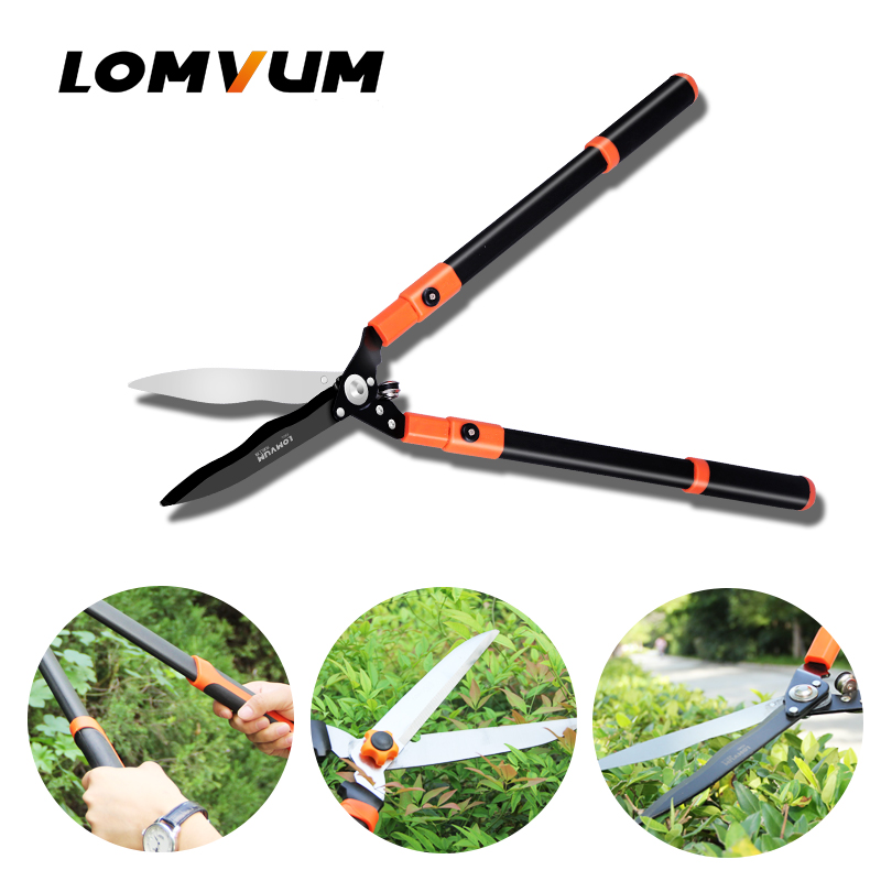 LOMVUM Professional  Hedge Shear Purnning Trim Branche Shear sharp fast  Trimming Shear cut fence shear.|Scissors|Tools - title=