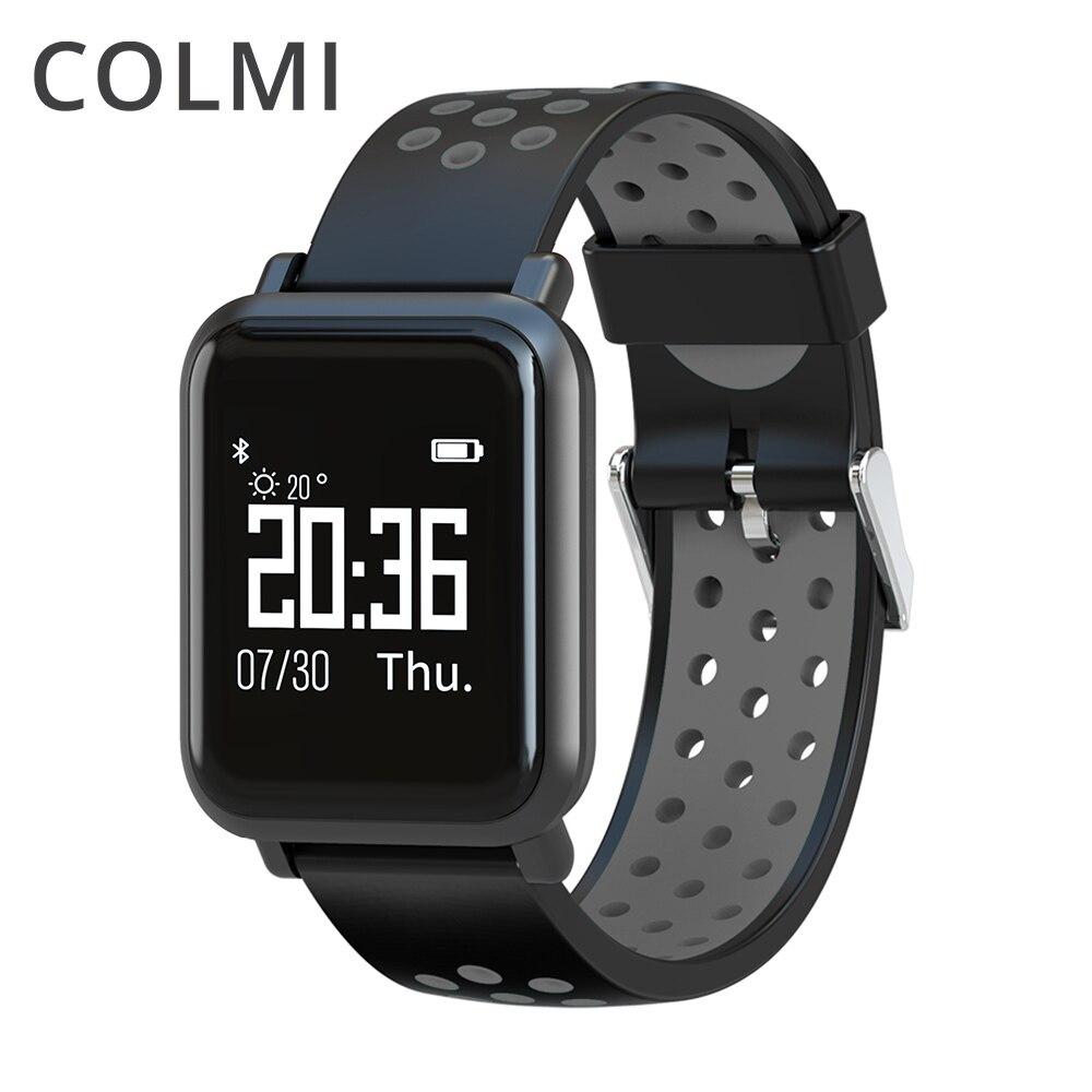 COLMI Smart Uhr S9 2.5D OLED Bildschirm Gorilla Glas blutdruck blutsauerstoffsättigung KREMPE IP68 Wasserdicht Aktivität Tracker Smartwatch