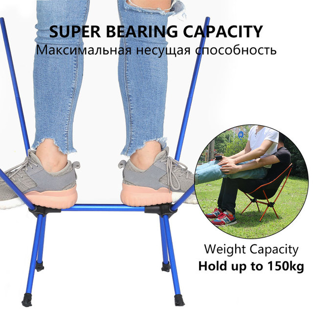 Foldable Camping Chair High Load 6