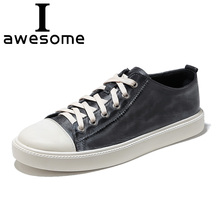 Купить с кэшбэком  2018 New Arrival Genuine Leather Casual Shoes Fashion Men Shoes Breathable Comfortable Men Real Leather Shoes Lace-up Moccasins
