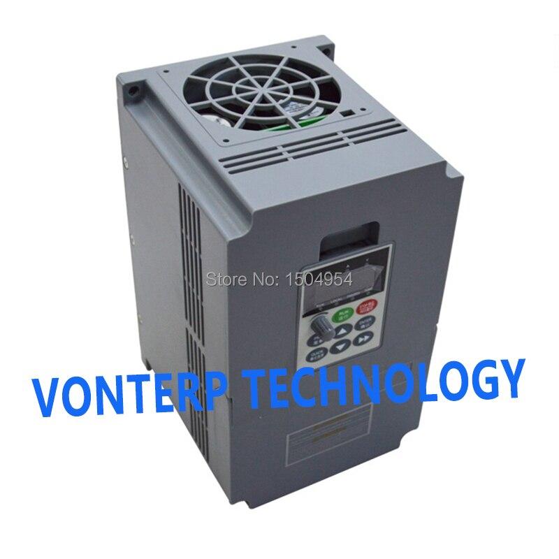 Векторный Преобразователь частоты с переменной частотой, трехфазный вход и выход 9A 4 кВт 380 В