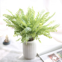 Artificial Plants Artificial Plastic Wheat Grass for Indoor Outside Home Garden Office decoration SF47443