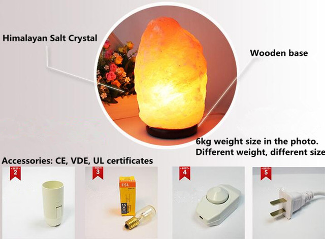 Novelty himalayan salt rock table lamp for air purity lava lamp desk novelty himalayan salt rock table lamp for air purity lava lamp desk light living room lamparas mozeypictures Images