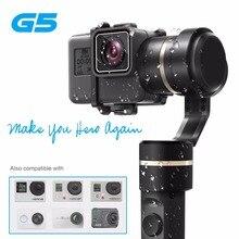 Feiyu G5 3-achsen Hand Gimbal V2 für GoPro HERO5 5 4 Xiaomi yi 4 karat SJ AEE Aktion Nocken Splash bluetooth-fähigen Control