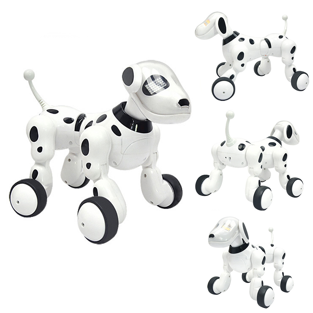 Dog Robot Dance Robot Dog Intelligent 2.4G Wireless Remote Control Kids Electronic Toys Talking Toys Music Educational Kid Gift