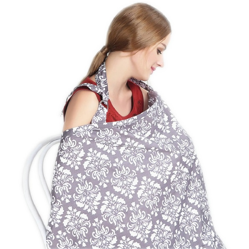 #1 Cotton Nursing Cover for Breastfeeding Babies Soft Privacy Feeding Cover Nursing Apron for Breastfeeding
