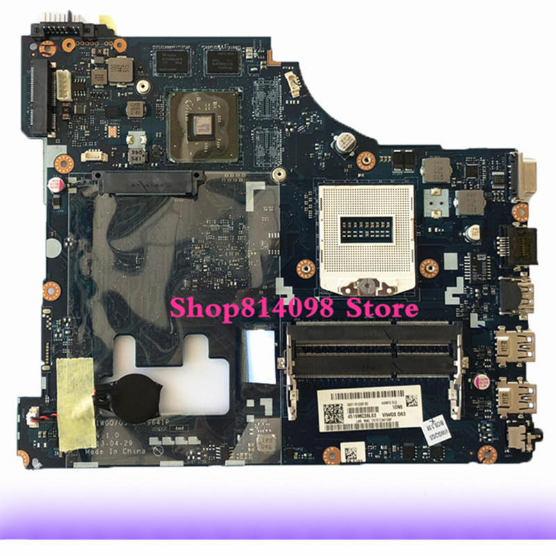 KEFU LA-9641P For Lenovo VIWGQGS LA-9641P for Lenovo G510 Laptop Motherboard motherboard tested laptop motherboard for e6520 not detecting wifi networks pal61 la 6563p