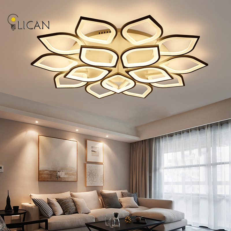 LICAN Ideal Modern Led Ceiling Lights For Living Room Study Room Bedroom Home Dec lamparas de techo Modern Led Ceiling Lamp modern led acrylic flush mount ceiling lamp living room bedroom lighting lamparas de techo study room lamps free shipping