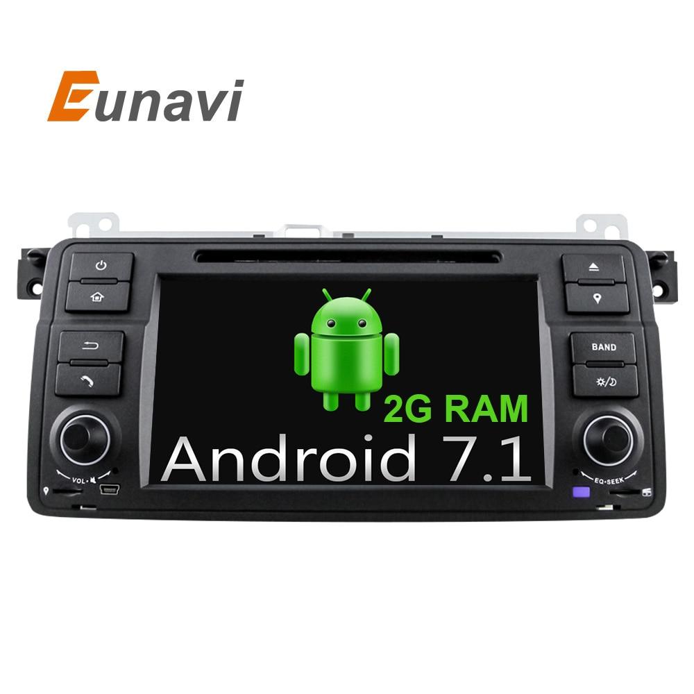 bilder für Quad Core 1 Din Android 7.1 Auto DVD-player autoradio für BMW E46 M3 mit GPS-Navigation Bluetooth WIFI USB SWC AUDIO unterstützung 3g