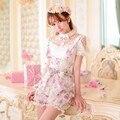 Принцесса сладкий лолита шорты Конфеты дождь Летом новый Японский стиль сладкий лук цветочный Высотой талии ремни Фонарь шорты C15AB5711