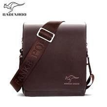 Badenroo marka męska torba luksusowe torebki kangur torby męskie projektant skórzane biznesowe męskie torby na ramię torby Crossbody