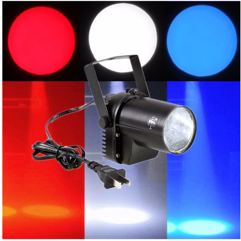 Best Price White Beam Spotlight Pinspot 3W LED Stage Light Stage Lighting Effect Lamp For DJ Club Disco Bar Holiday Decor Lights best price 5pin cable for outdoor printer