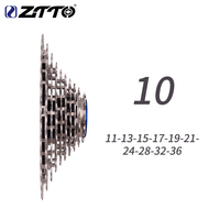 ZTTO Ultimate 10 Speed 11 36T Bicycle Cassette ULT 10s Steel MTB Freewheel CNC for MTB Gravel Bike Compatible XX X0 M980 M780|Bicycle Freewheel| |  -