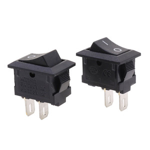 10*15mm SPST 2PIN ON/OFF G130 Boat Rocker Switch 3A/250V Car Dash Dashboard Truck RV ATV Home CE certification