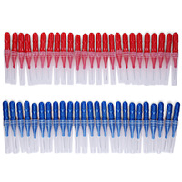 50pcs Mulit Size Tooth Flossing Head Oral Hygiene Cleaner Interdental Brush Toothpick Dental Flosser Tooth Care