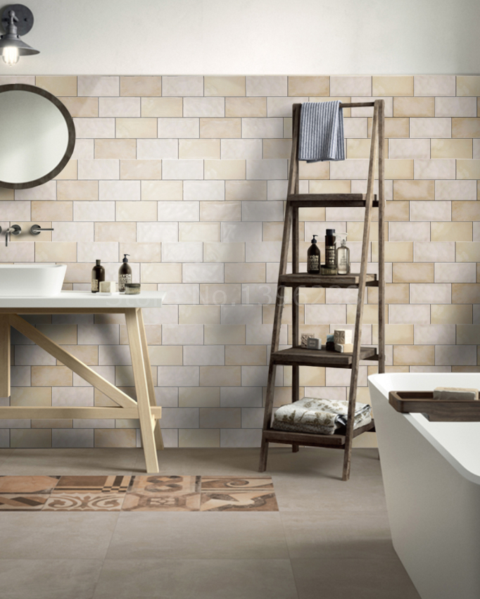 Beige Ceramic Mosaic Kitchen Backsplash Bathroom Wall Subway Tiles Shower  Background Home Hotel Wall Floor Decor Indoor YGD1020B In Wallpapers From  Home ...