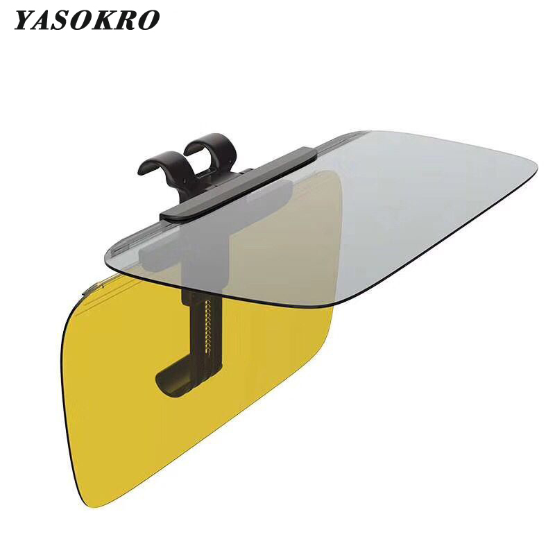 High Quality Day And Night Anti-dazzle Car Visor Anti-Dazzling Goggles Spring Clip Clear View Visor