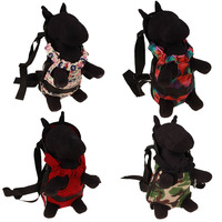 Cotton Foldable Dogs Carriers Breathable Dog Carrying Bags For Travel Outdoor Pet Product Dog Backpacks