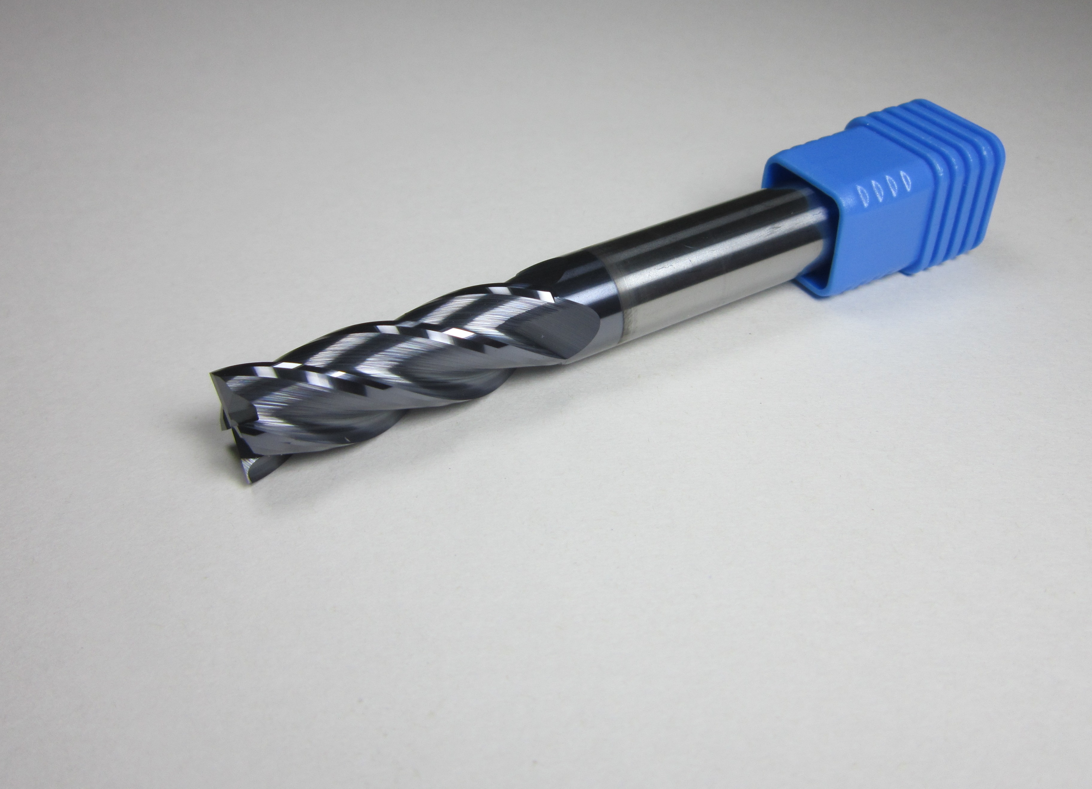 1pcs Flute Tungsten Carbide Flat Alloy End Mill Cutter 6mm HRC45 Milling Tool