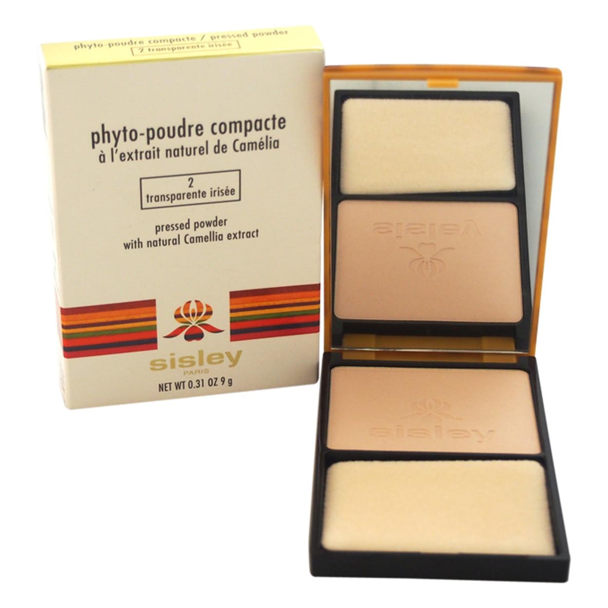 Phyto-Poudre Compacte Pressed Powder - # 2 Transparente Irisee by Sisley for Women - 0.31 oz Powder spirulina pacifica powder 16 oz multi pack