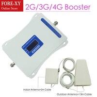 Repeatnet GSM и DCS WCDMA 900 + 1800 + 2100 трехдиапазонный мобильный усилитель сигнала 2 г 3g 4G LTE Сотовая связь повторителя GSM 3g мобильный телефон 4G Booster