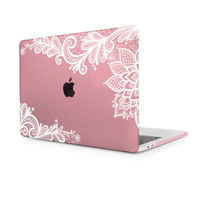 Redlai Cearance Sale Clear Case For Macbook Air 13 3 Inch Lace Flowr Hard Cover Macbook