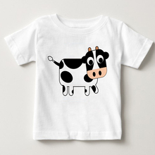 2018 baby summer cute cartoon number jackets print pictures boys and Girls Summer Short Sleeved costumes favorite clot