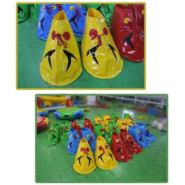 DUUTI Games Props Inflatable Big Feet Outdoor Parent-Child Sports Equipment Children