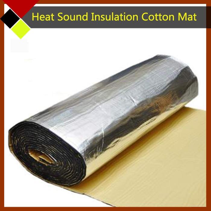 12 x 40 voiture pare feu moteur plafond porte chaleur d 39 absorption acoustique isolation en. Black Bedroom Furniture Sets. Home Design Ideas