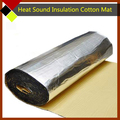 "12"" x40"" Car Firewall Engine Ceiling Door Heat Sound Absorption Insulation Aluminum Foil Cotton Dampening Mat Deadener"