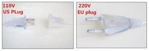 Image 5 - NEW 10 x 1M 448 LED Outdoor Curtain String Light Christmas Xmas Party Fairy Wedding LED Curtain Light 220v 110v US AU EU Plug