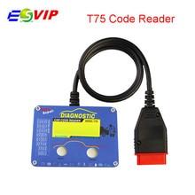 Professional Auto Code Reader T75 for V-o–l -v//o good quality free ship