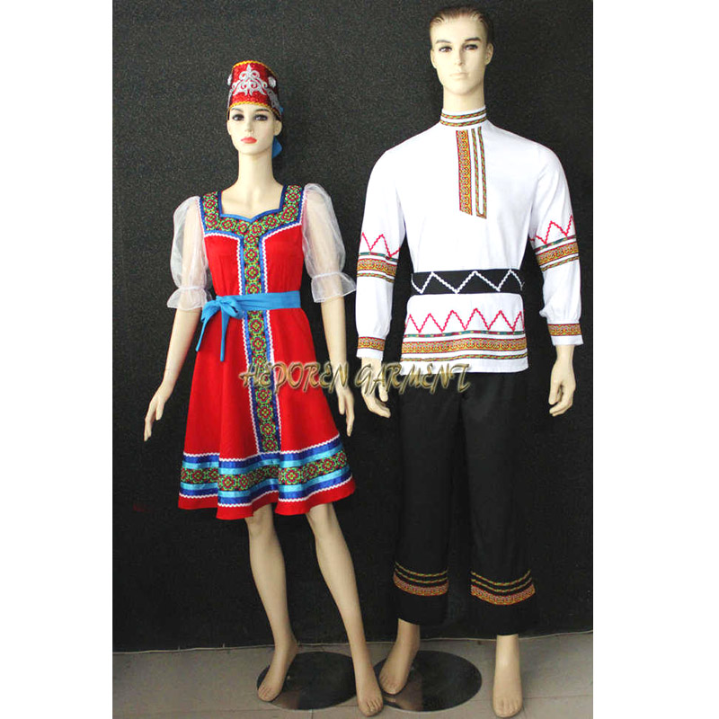 Купить с кэшбэком High Quality Custom Made Man Or Children Russian National Dress,Folk Dancing Tops For Men Jackets Drop Shipping Free Shipping