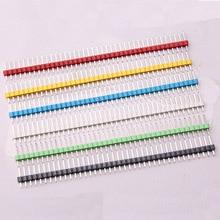 Glyduino 10 PCS 40 Pin Single Volleys of Needle Single Row Stitc Row seat spacing 2.54MM for Arduino