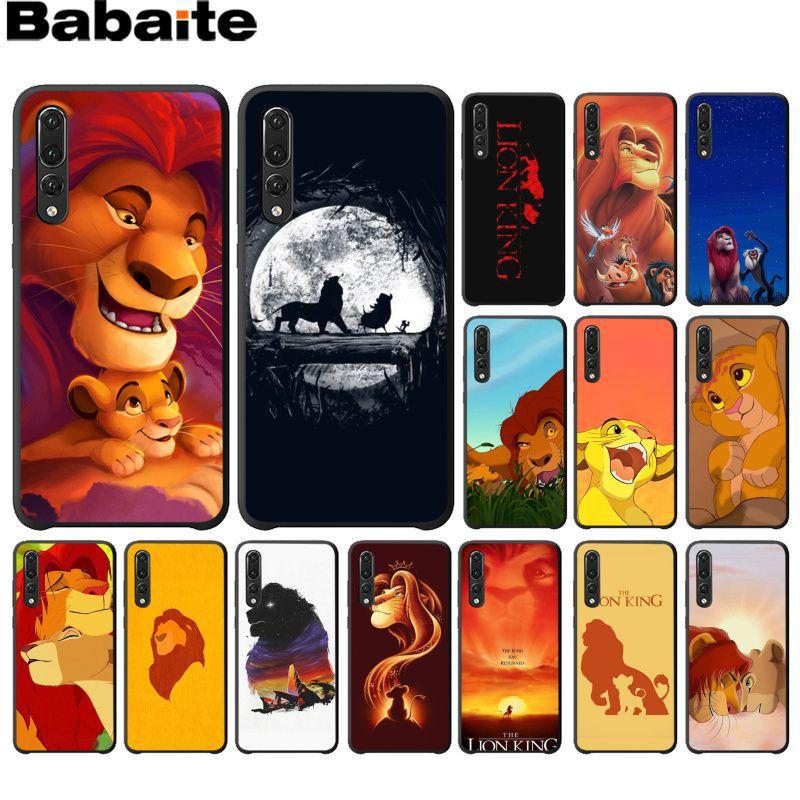 Babaite De Lion King Grumpy Kat Simba Telefoon Cover Voor Huawei P10 Plus 20 Pro P20 Lite Mate9 10 Lite Honor 10 View10 Back Case