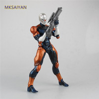 Metal Gear Solid Solidus Snake Gray Fox Play Arts Kai Cybory Ninja Action Figure PVC Collectible Model Toy Gift XM