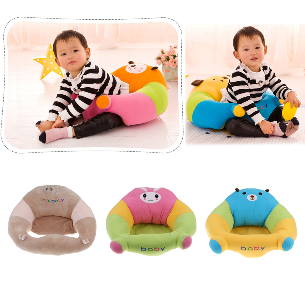 Cotton Cute Infant Nursing Anti-Sliding Support Sit Up Soft Sofa Chair Seat Cushion Baby Feeding Accessories