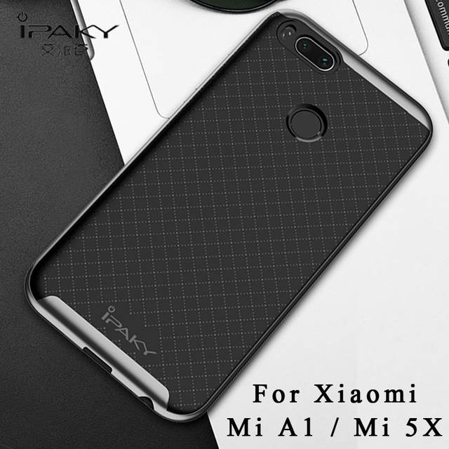c61ba58de9b placeholder ipaky Cases For Xiaomi Mi A1 5X Case Funda Xiaomi 5X A1 Case  Silicone Back Cover