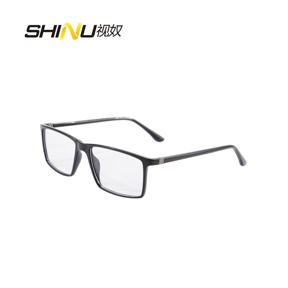 100% Wahr Hot Quadratische Tr90 Frauen Männer Optische Gläser Photochrome Rezept Myopie Brillen Anti Blue Ray Presbyopie Lesebrillen Einfach Und Leicht Zu Handhaben Korrektionsbrillen