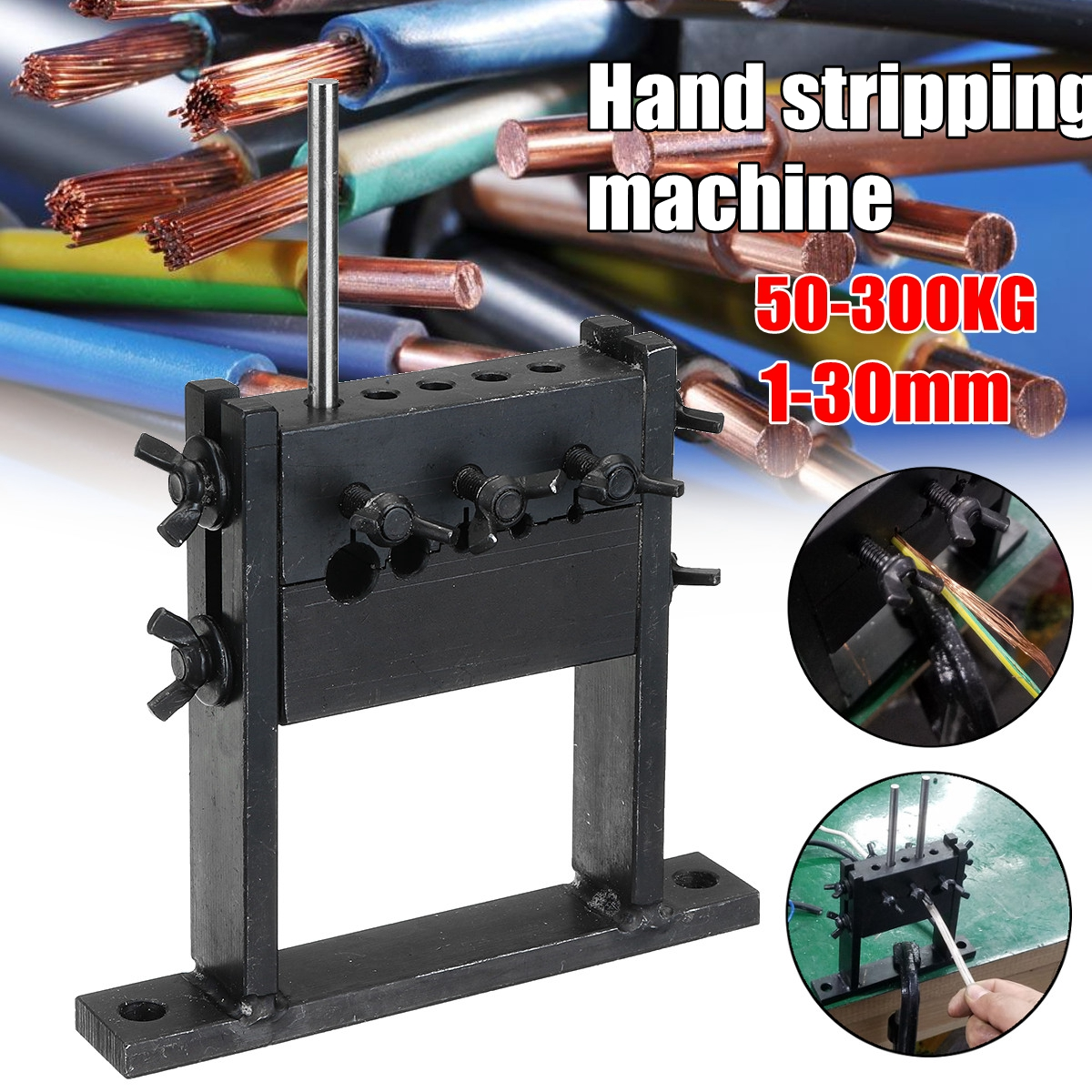Hand Tool Manual Scrap Cable Wire Stripping Peeling Machine Stripper for 1-30mm oliver operations manual for machine tool technology