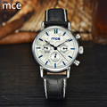 MCE Original Watch Automatic Mechanical Watches For Women Leather Auto date Hours Ladies diamond watch Reloj automatico mujer