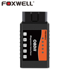 FOXWELL FW201 ELM327 V1.5 Bluetooth Adapter Car OBD2 OBDII Code Reader Scanner Automotive OBD Diagnostic Scan Tool ELM 327 V 1.5