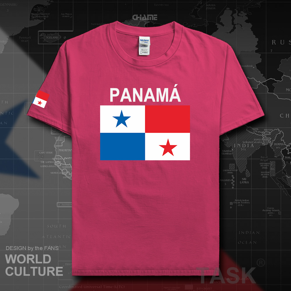 Panama Panamanian men t shirt 2017 jerseys nation team 100% cotton t-shirt clothing tops tees country sporting flag PAN Mestizo