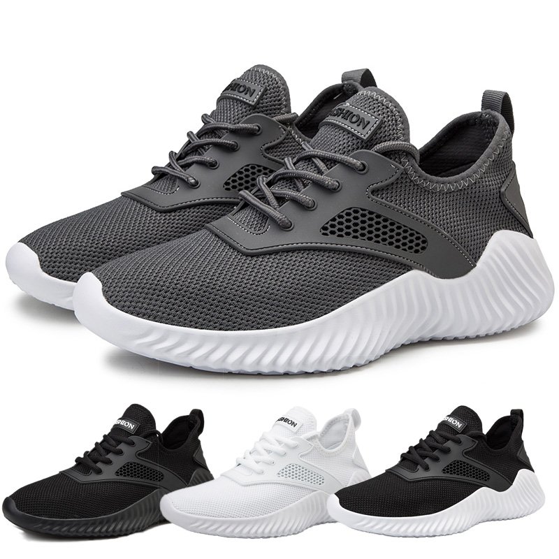 2019 New Arrival Couples Athletic Shoes Woman Black Original Sneakers Breathable Men Outdoor Running Shoes Sport Trainers