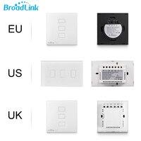 Broadlink TC2 3Gang EU US UK Touch Light Switch Wireless Remote Wifi Switch 3G 4G Remote