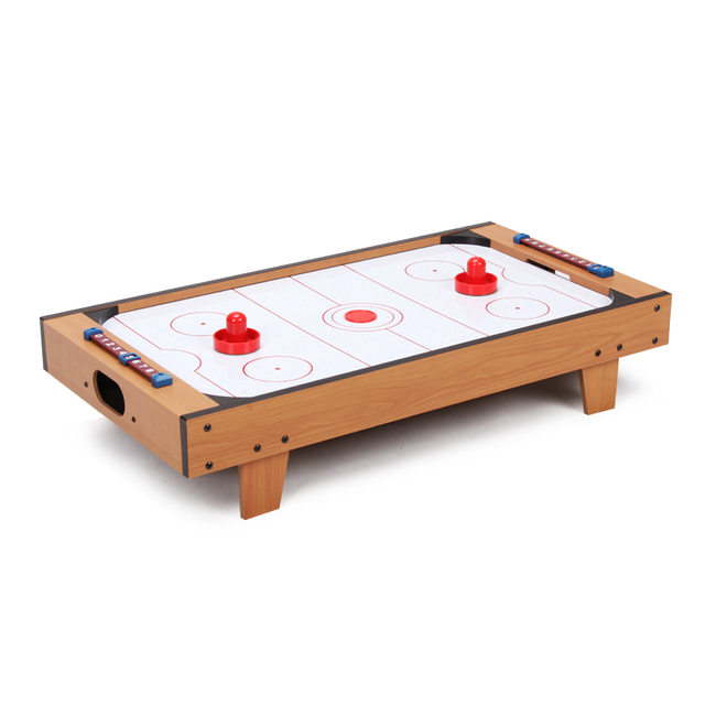 Air Flow 27inch Table Top Air Hockey With Leg Table Top Air Hockey For Kids  Mini