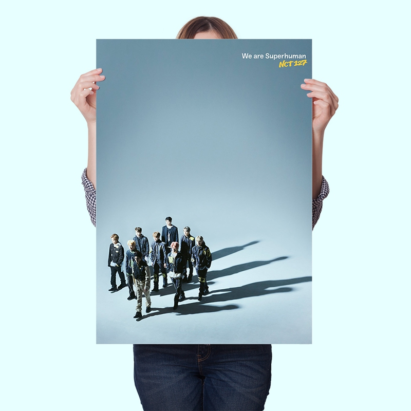 NCT  127 WE ARE SUPERHUMAN  Poster