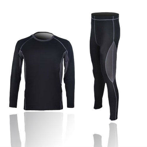 Mens Thermal Compression Base Layer Winter Under Wear Long Sleeve Shirts+Tights mund 342 malla winter compression 12 l