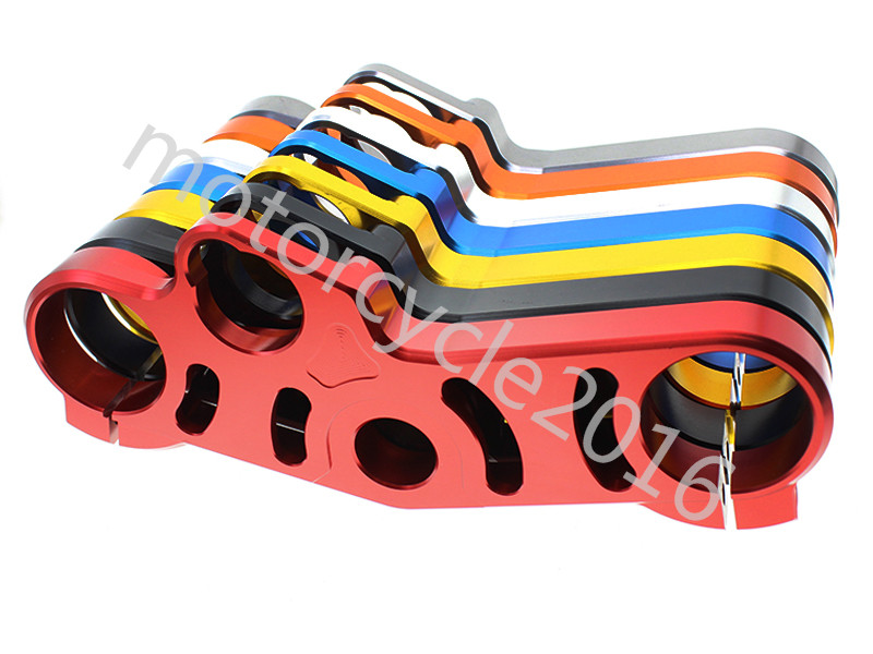 FXCNC CNC Aluminum Motorcycle Lowering Triple Tree Front End Upper Top Clamp 7 Colors For SUZUKI GSX-R 600/750 2006-2009 2008